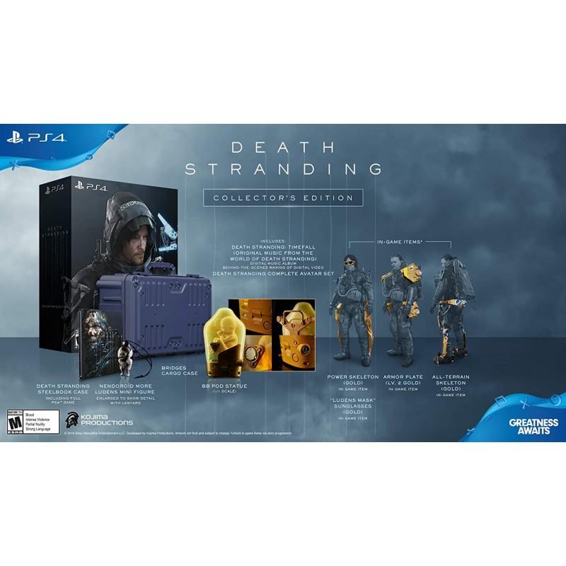 Death Stranding - PlayStation 4 Collectors Edition:, 1, 단일옵션