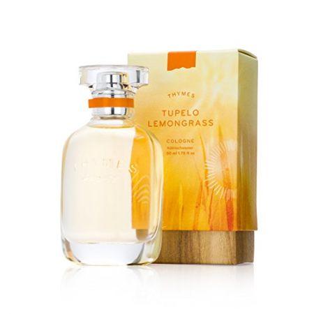Thymes - Tupelo Lemongrass Cologne - Fresh and Energizing Citrus Fragrance - 1.75 oz PROD470008202