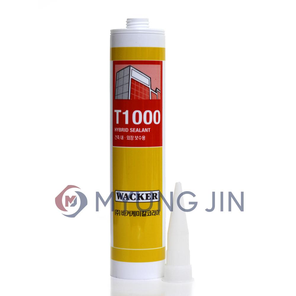 WACKER 럭키 T1000 실란트 우레탄실리콘 (회색 300ml)