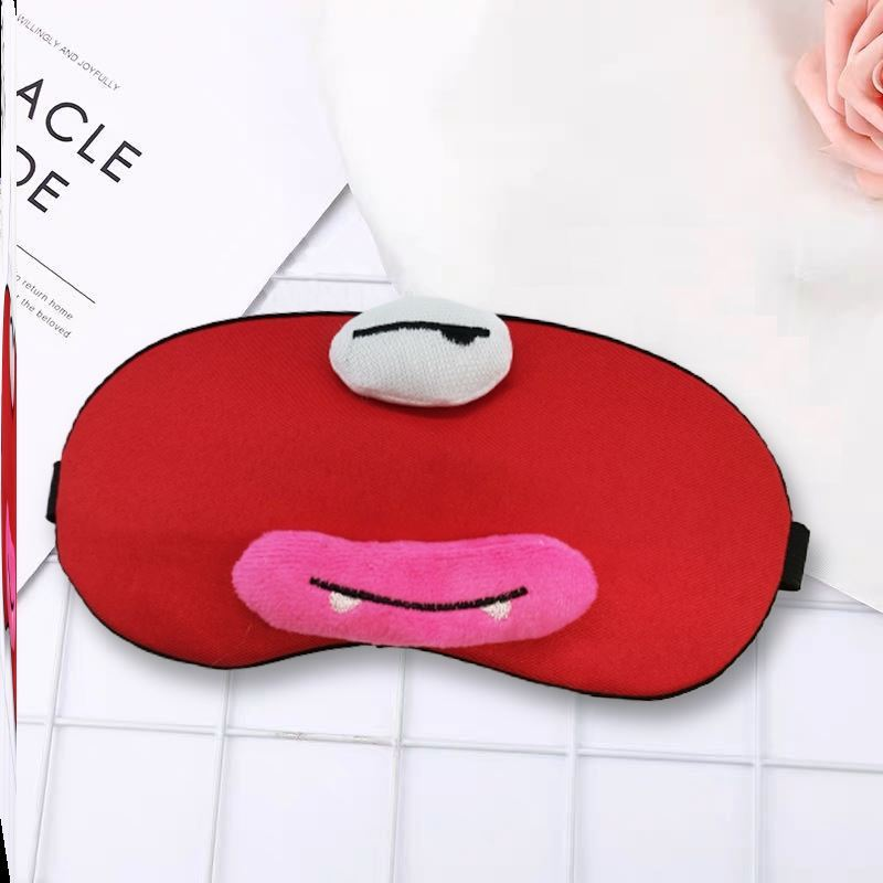 수면안대 애니메이션 안대 여학생 수면 암막 잠자는 통기성 낮잠 완화 눈의피로 아이스팩