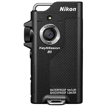일본정품 2. Nikon 방수 착용 카메라 KeyMission 80 BK 블랙 B01LYVHWK4, One Size_블랙, 상세 설명 참조0, 상세 설명 참조0