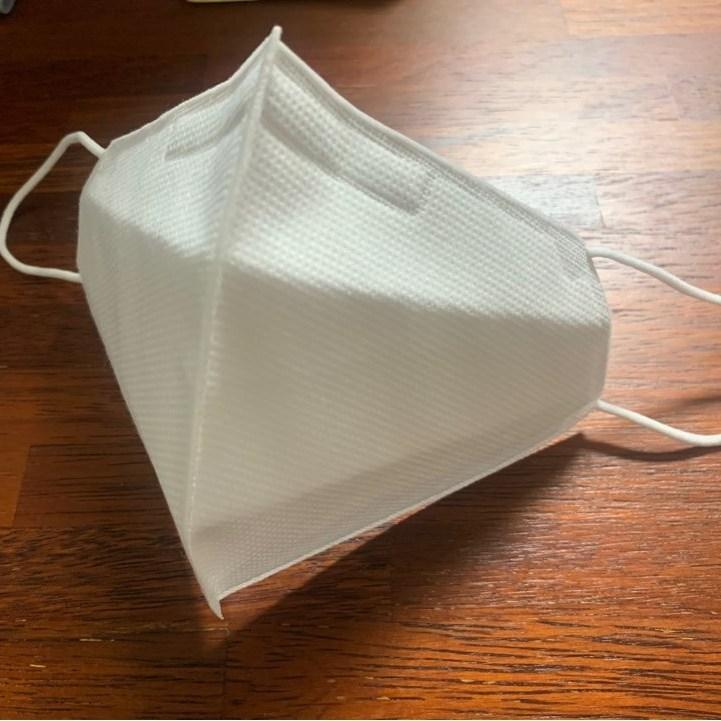 국내생산 일회용 먼지차단 마스크 대형(성인용) 비말차단 일반마스크 개별포장, 1팩, 1매
