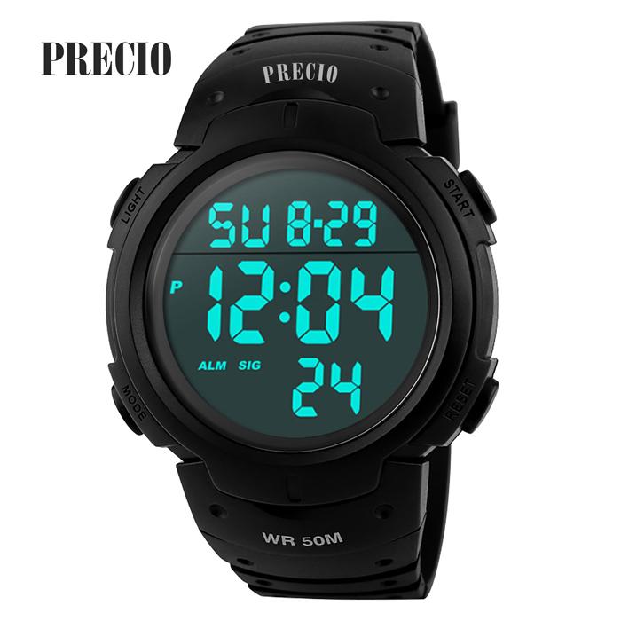 프레시오 스포츠시계 전자시계 손목시계 50M방수시계 N68
