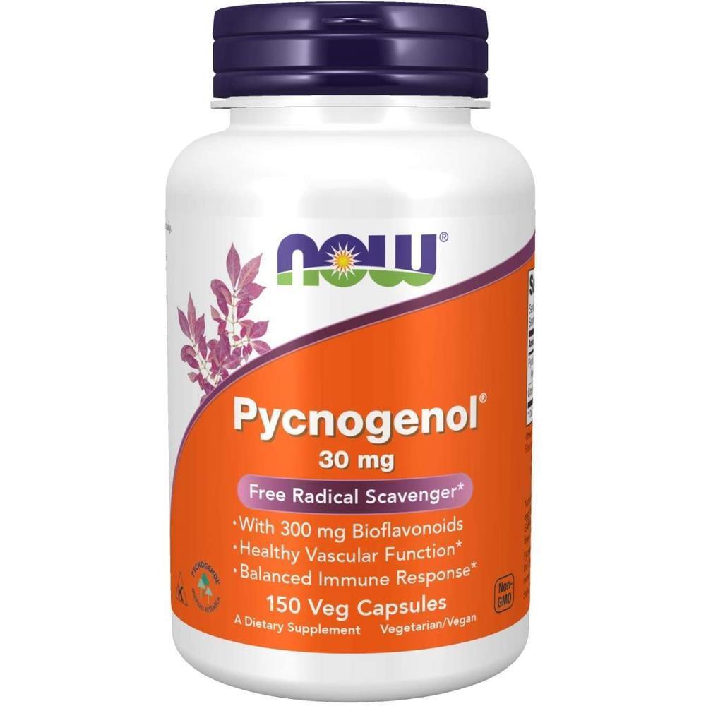 [직구 피크노제놀] NOW Supplements Pycnogenol 30 mg (a Unique Combination of Proanthocyanidins from French, 1set, 1set
