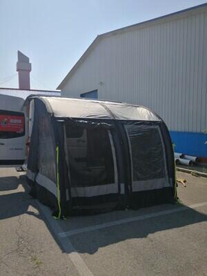 캠핑카 도킹텐트 SUV 차박 텐트 대형 에어빔텐트, 길이 2.8m x 폭 2.5m x 높이2.4-2.6m