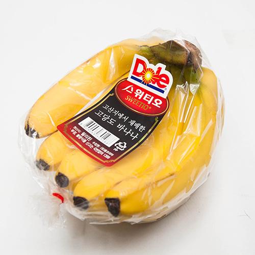[프레시팜] 수입과일류 Dole 고당도 스위티오 바나나 1송이