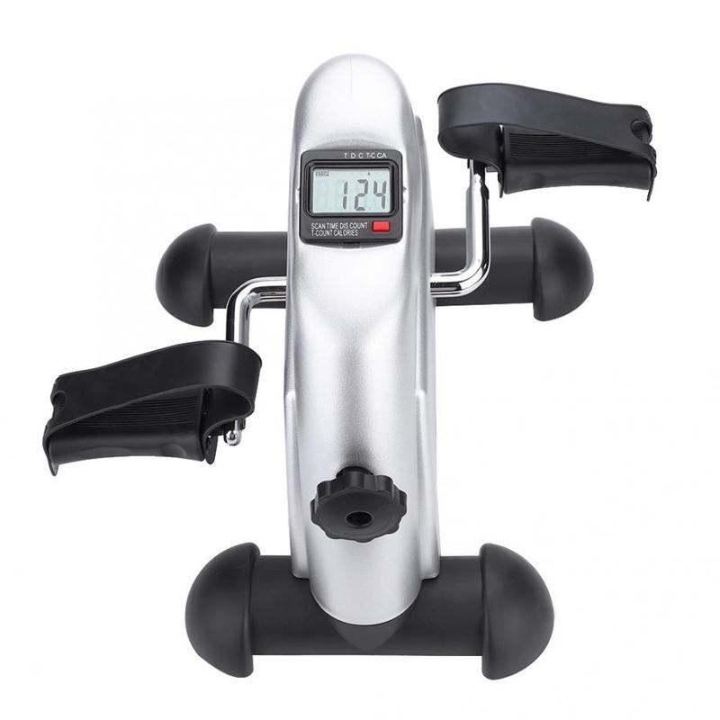 미니 페달 스테퍼 운동 기계 LCD 디스플레이 실내 사이클링 자전거 스테퍼 디딜 방아, CN-22-5873278502