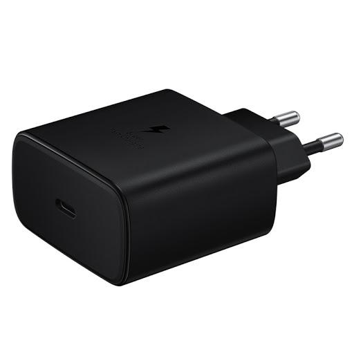 삼성전자 45W 초고속 충전기 EP-TA845, 1세트, 블랙