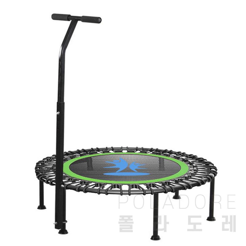 폴라도레 미니 홈트트램폴린 점핑 성인 다이어트 어린이 가정용 방방이 +(L), SS-0065↠02-레드[40인치]