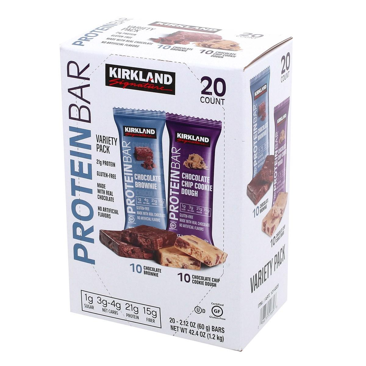 커클랜드 프로틴바 60g x 20개입 1.2kg 프로틴(단백질), 1개