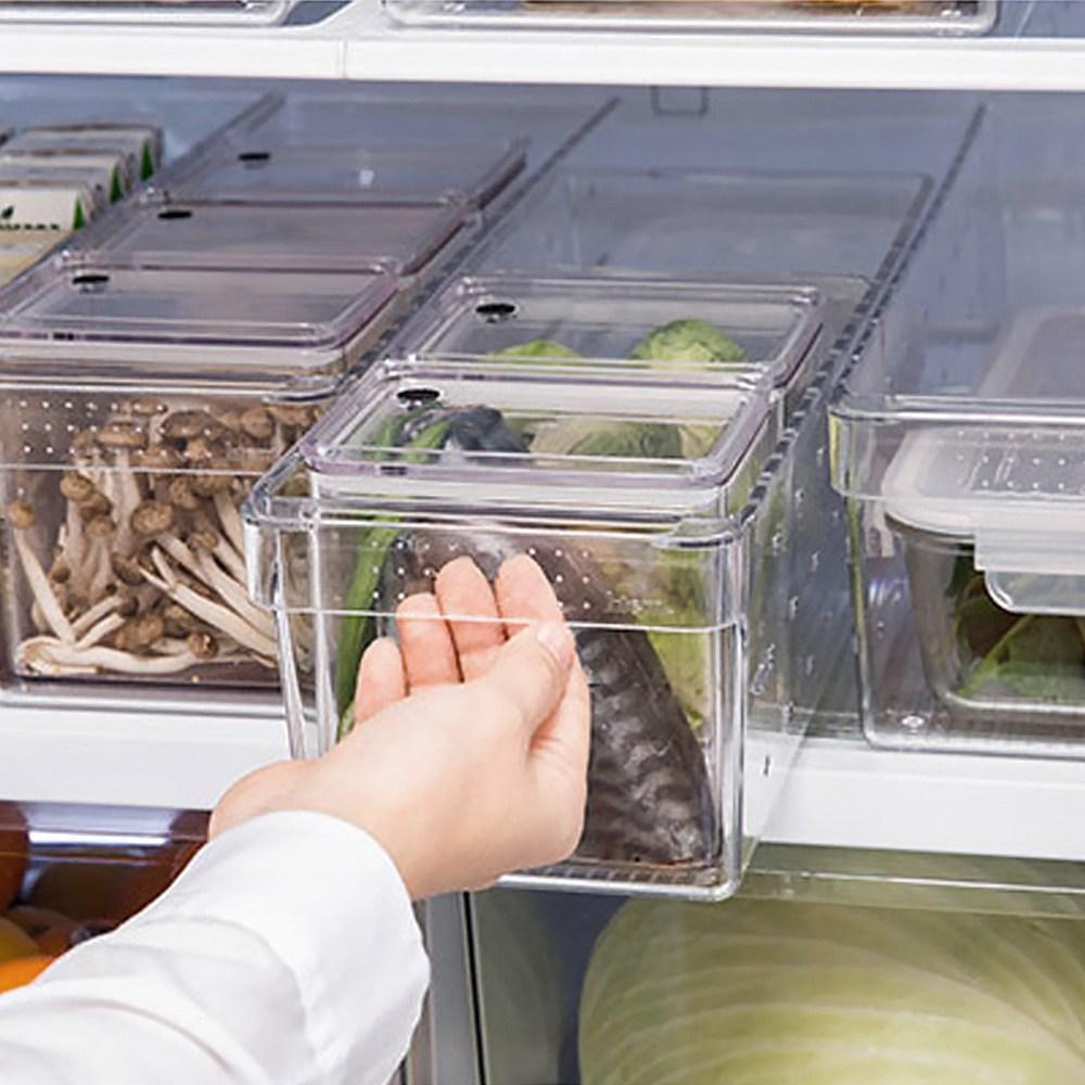 국산 멀티트레이 중 냉장고정리 플라스틱드럼통 냉장고수납