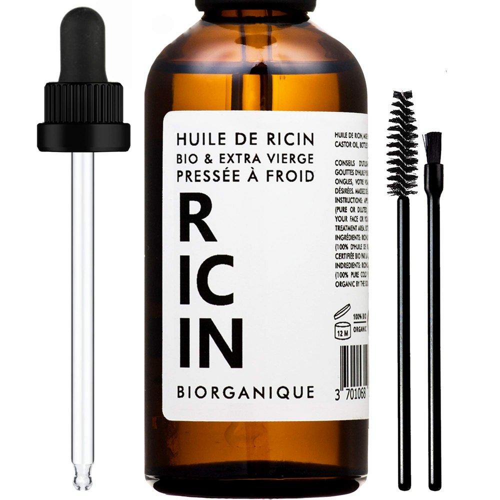 (프랑스) Biorganique 오가닉 캐스터오일 50ml Castor Oil 100% Organic Pure and Natural Care