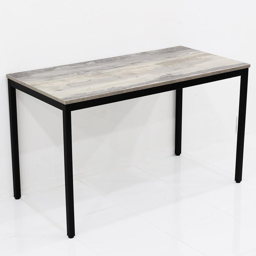 THEJOA 모던테이블 카페 테이블 업소용 입식 식탁 회의실 테이블, 1200 빈티지그레이