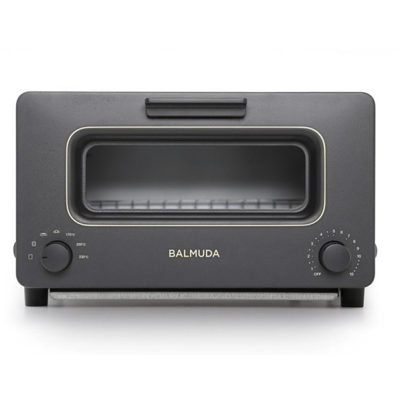 BALMUDA K01E-KG블랙 The Toaster[오븐 토스터(1300W)]K01EKG바루 뮤 다 스팀 기능 전환 모델 토스터, 단일상품