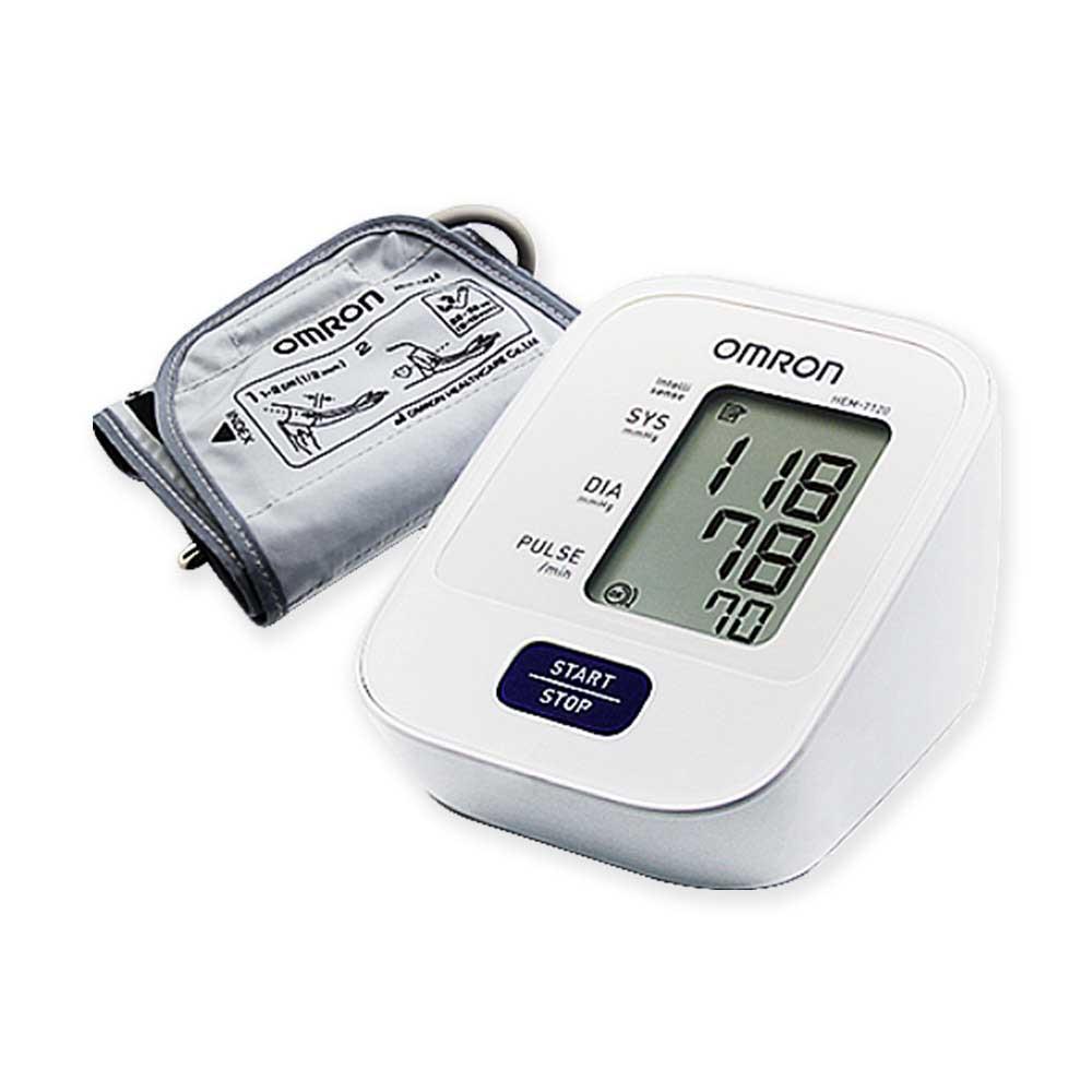 OMRON HEM-7120 오므론 혈압계 혈압측정 부정맥 체동감지, 1대