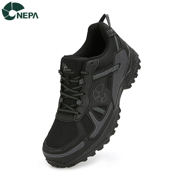 NEPA 네파 공용 몬타노 운동화 블랙 7GE7626, BLACK_199