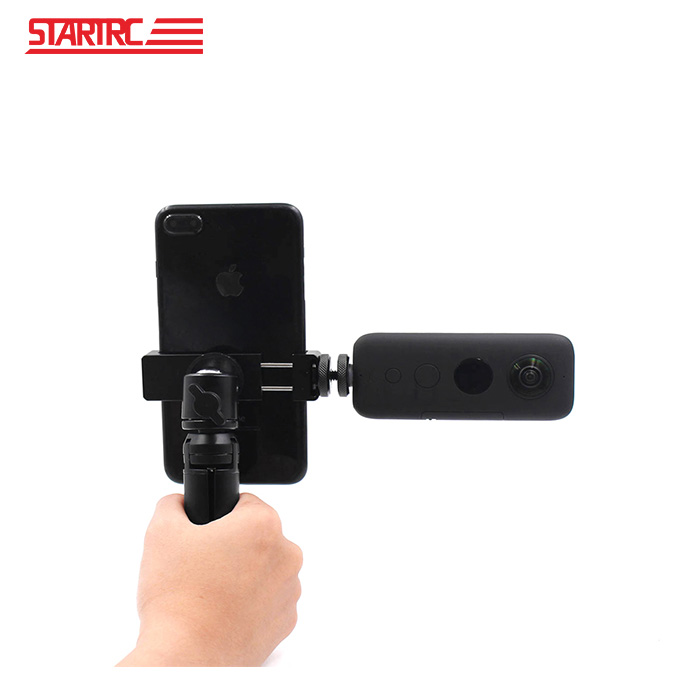 STARTRC 인스타360 폰홀더 삼각대 트라이포드 브라켓 Insta 360 OneX EVO Holder Bracket Stand Tripod 액션캠 드론 악세사리