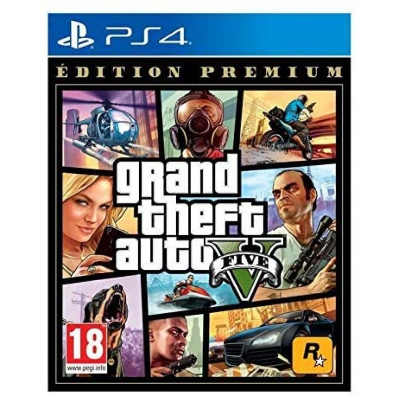 NG GTA 5 Premium 2 개 받기-PS4, 단일상품