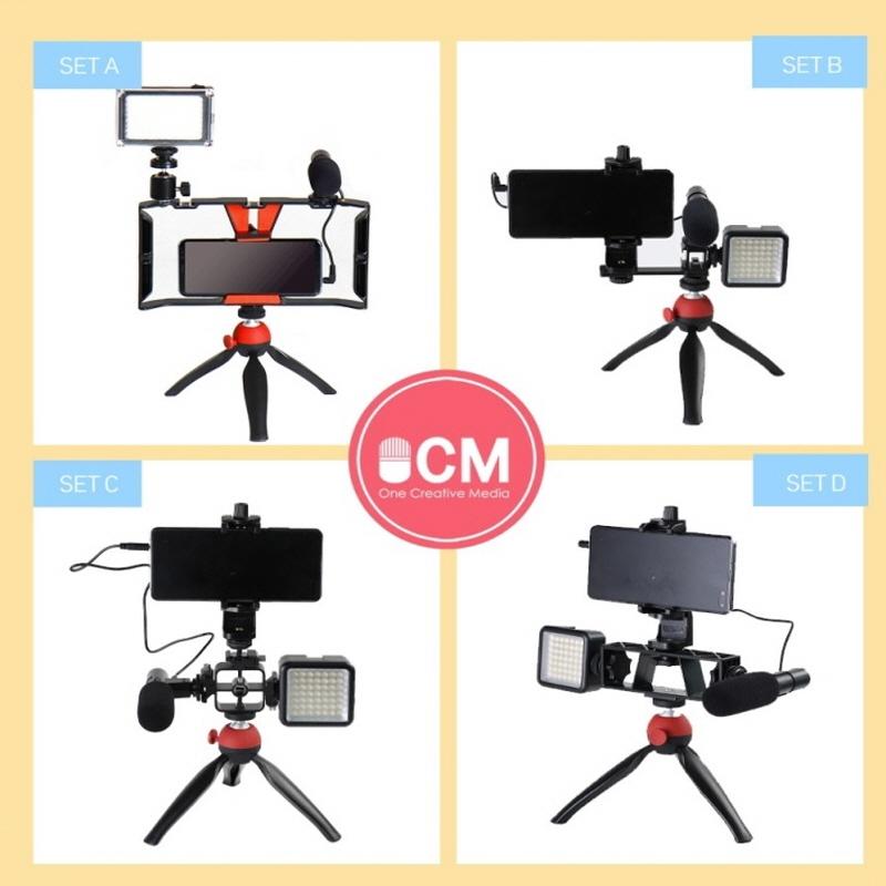프라임원 OCM 개인방송장비 셋트 4종 택 1 개인방송 필수 아이템, OCM 방송장비 세트 C 구성품