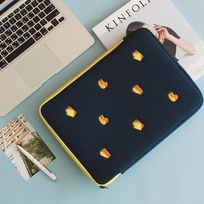 테일러버드 노트북 파우치 13인치 15인치 16인치 귀여운 캐릭터 12종, 치즈