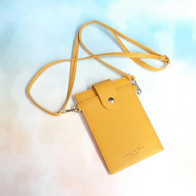 가을칼라 데일리 가벼운 핸드폰가방 미니 크로스 스트랩 롤리백 (7color)