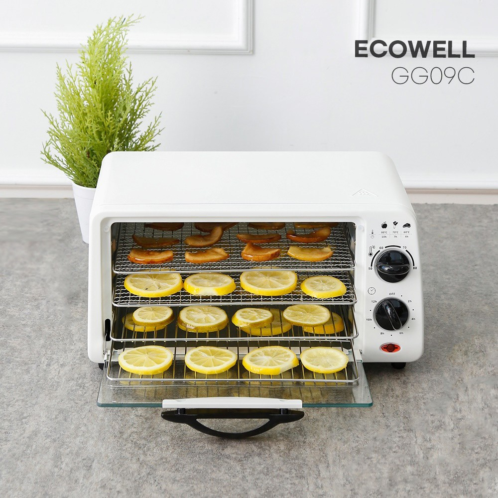 에코웰 스텐레스 식품건조기 GG09C 과일야채건조기, 단일상품