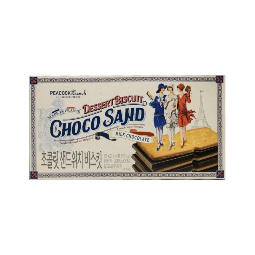 피코크 초콜릿 샌드위치 비스킷135g
