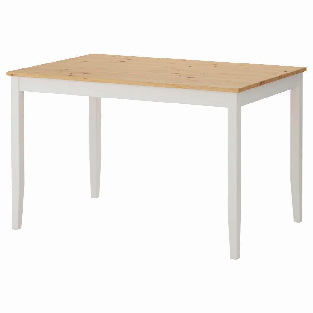 테이블 라이트 앤티크 스테인 화이트 스테인 LERHAMN 118x74 cm, 기본