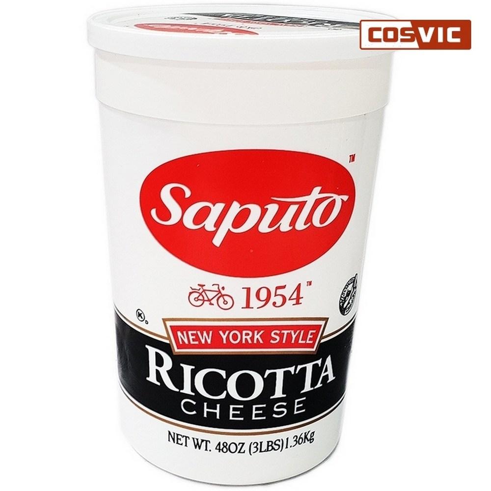 [코스트코]SAPUTO 뉴욕스타일 리코타 치즈 1.36kg, 단일상품