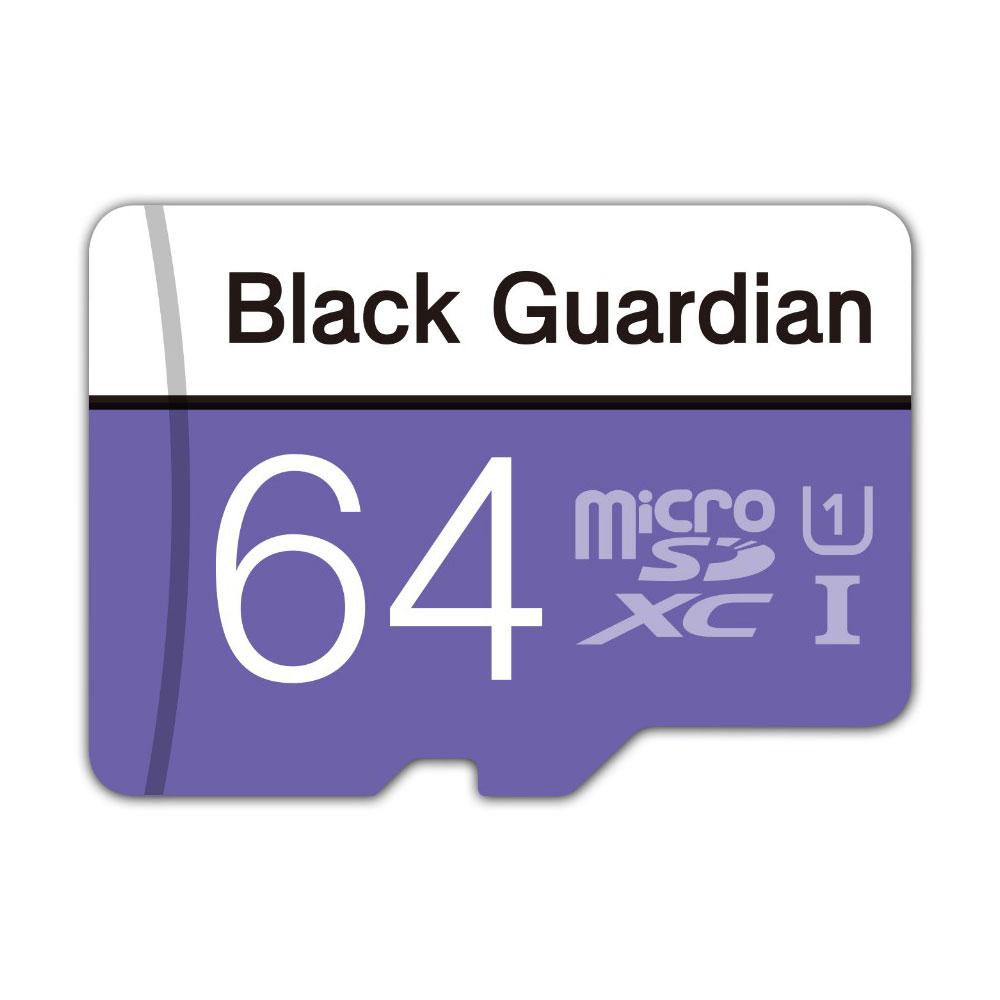 Black Guardian 자동차 블랙박스메모리카드 16G 32G 64G 마이크로SD MLC, 64GB
