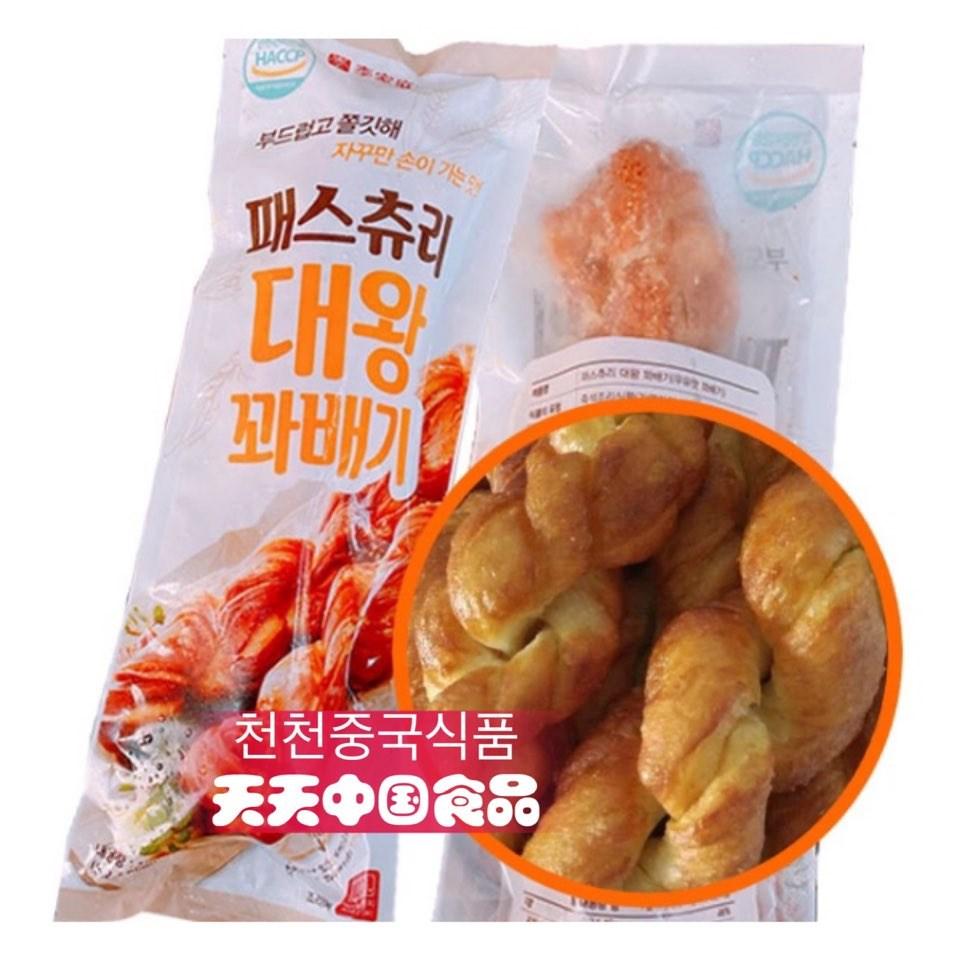 [천천중국식품]맛있는 대왕 패스츄리 꽈배기 160G, 1개