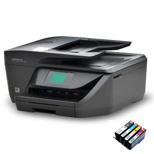 HP6958 프린터 팩스복합기 잉크젯 복합기, HP6958 팩스복합기 + 잉크 카트리지 2세트