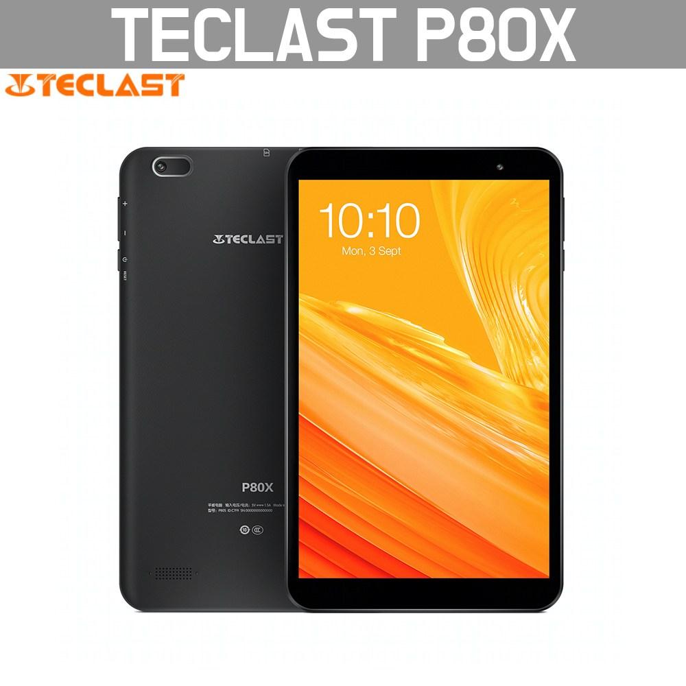 태클라스트 TECLAST P80X 태블릿 2+32GB 글로벌버전 무료배송, 블랙, P80X 2+32GB