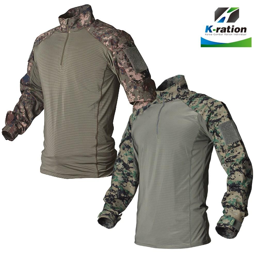 케이레이션 G2 전술 컴뱃 티셔츠 combat T shirt [육군 특전사] 밀리터리룩 컴뱃셔츠 전술셔츠 전술티셔츠