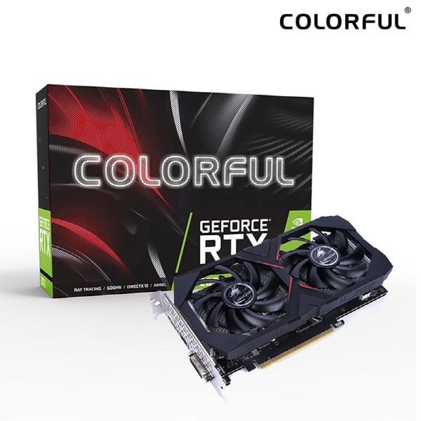 TWO1MALL [Colorful] GeForce RTX 2060 SUPER Gaming GT V2 D6 8GB 그래픽카드 VGA길이 (약 222mm), 599880