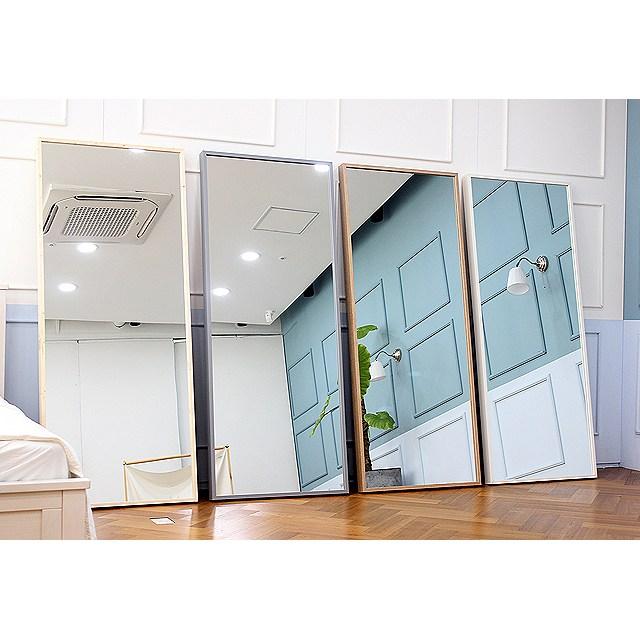 [가구언니] 루이 대형 와이드 전신거울 인테리어거울 옷가게거울 빅거울, 화이트(400size)