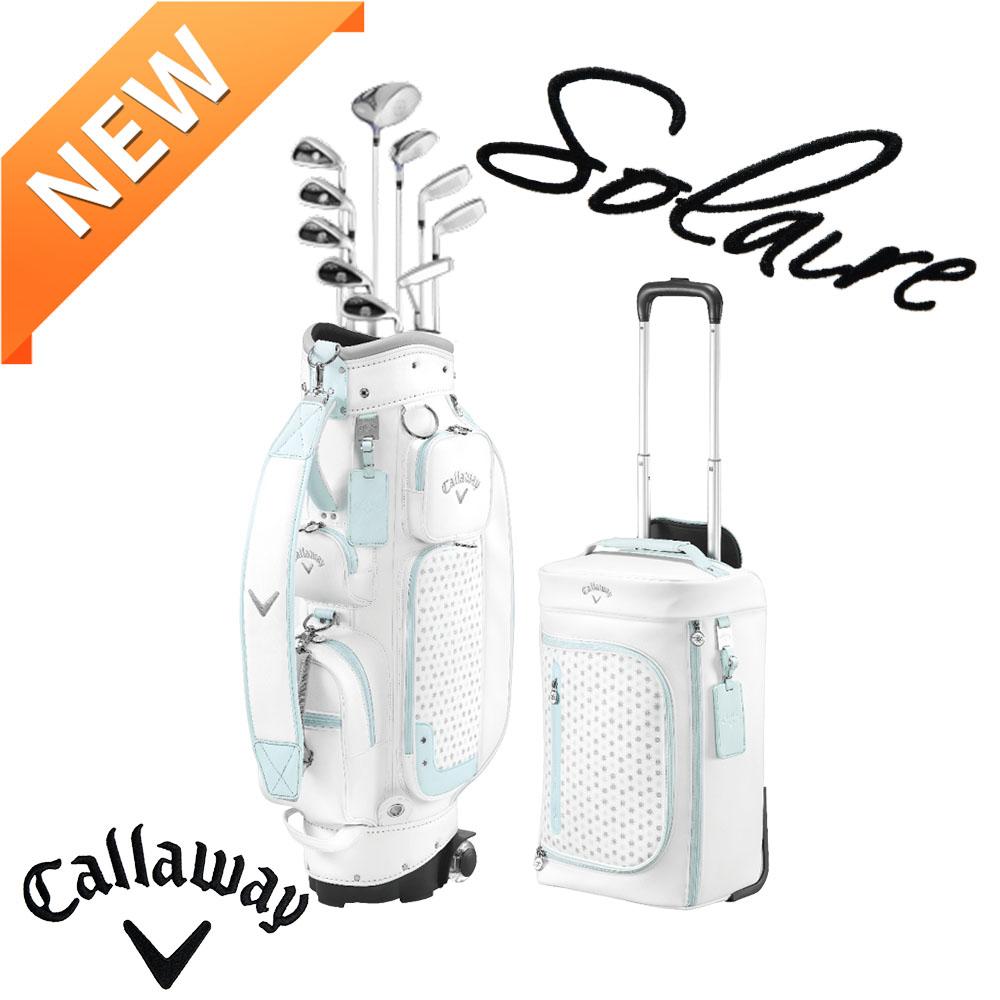 여성골프채 풀세트 - 캘러웨이 정품 솔레어20 여성 풀세트 10개구성, 블랙풀세트