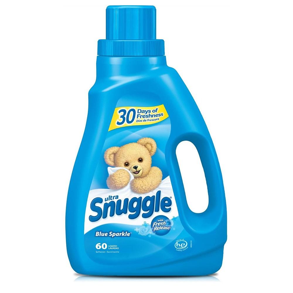 Snuggle 스너글 블루스파클 고농축 1.5L 섬유연제, 1개