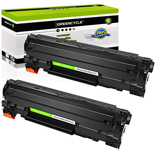 GREENCYCLE 2 PK Replacement CE285A 85A Toner Cartridge for HP Laserjet P1002 1003 1004 1005 1006 1009 P1102 P1102w, 본문참고