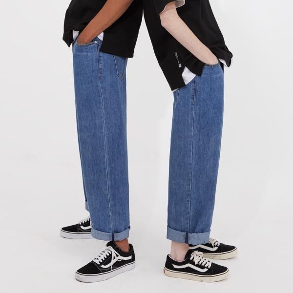 어드바이저리 Wide Denim Pants - Blue