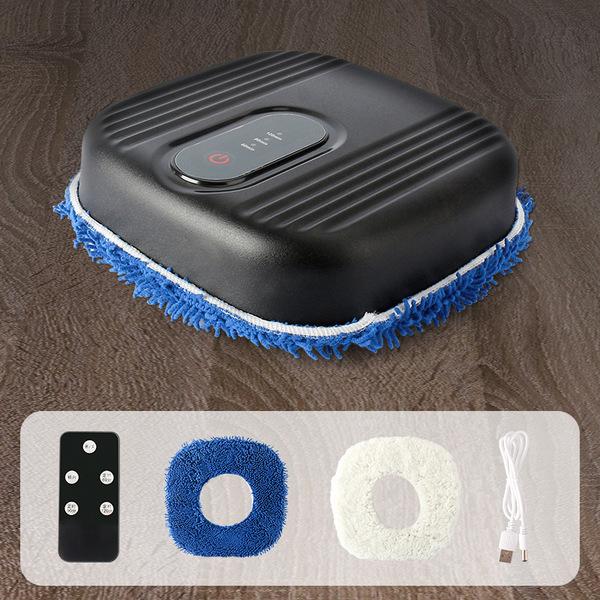 가정 로봇 스마트 전자동 충전 걸레 청소기 건습겸용, 검정