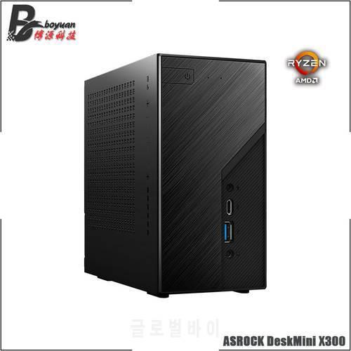 ASROCK DeskMini X300 미니 ATX 케이스 and 메인보드 와이파이 M.2 STAT USB, 상세내용참조