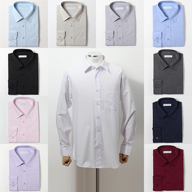 포시즌셔츠 남자 구김적은 긴팔 와이셔츠 일자핏 13종 모음 정장 교복셔츠 일반핏 셔츠유니폼 단체복