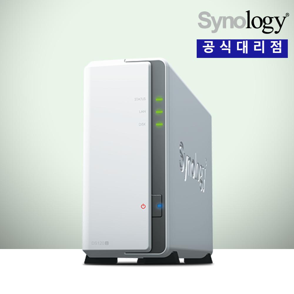 시놀로지 DS120j 1베이 (하드미포함) Synology NAS 정품 판매점