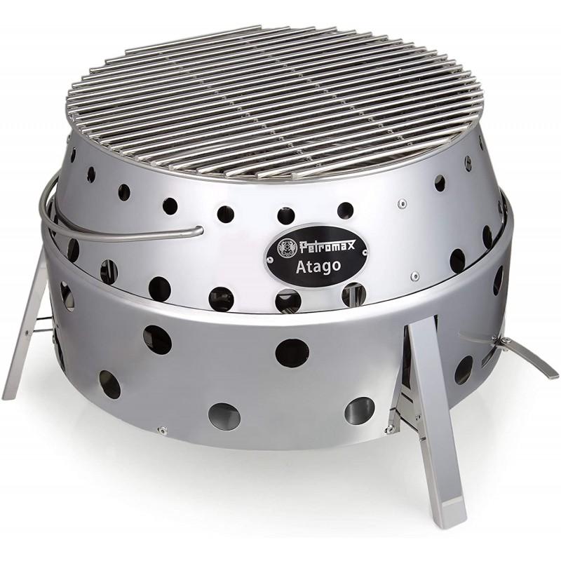 페트로맥스 아타고 - 그릴 지역의 만능 - 그릴 오븐 또는 스토브 또는 불그릇으로 사용, 단일옵션