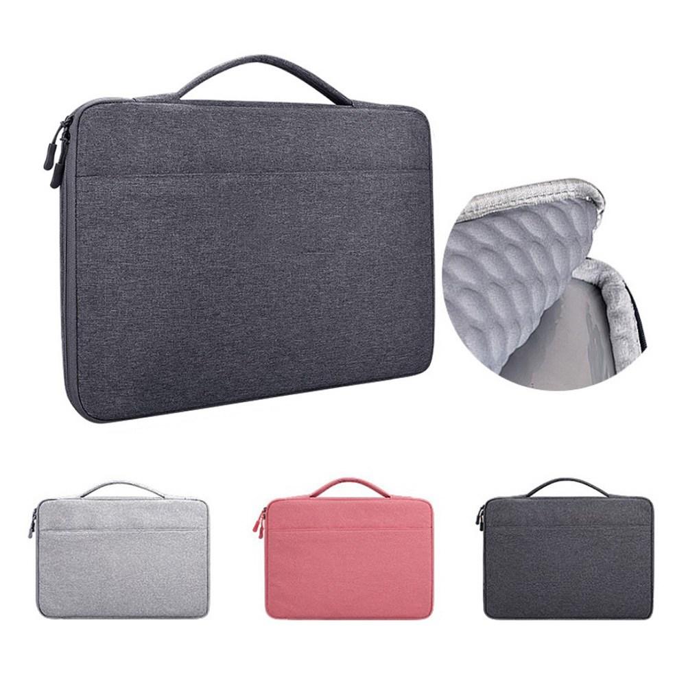 다올 소프트쿠션 노트북 파우치 13인치 15인치 17인치 맥북 그램 삼성, 딥그레이
