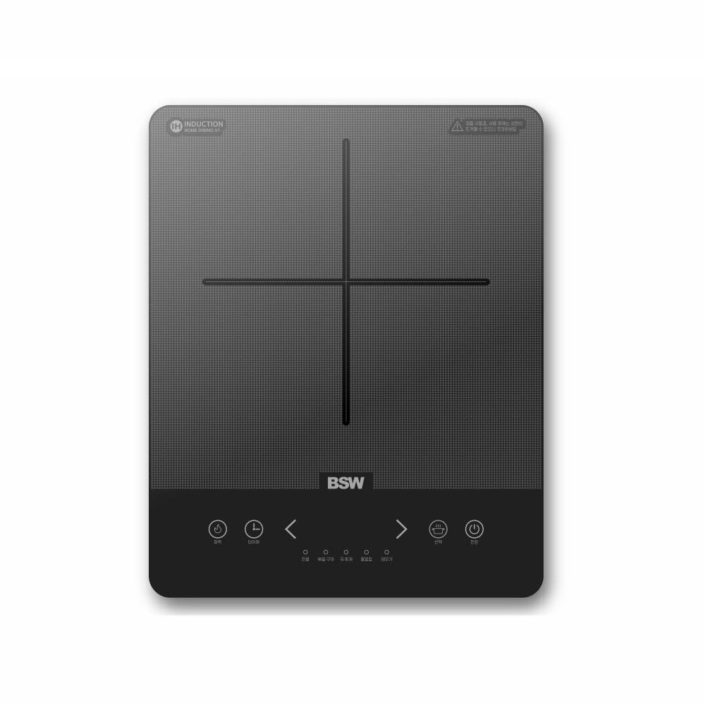 BSW 1구 인덕션 전기레인지 핫플레이트 ST-IHR01