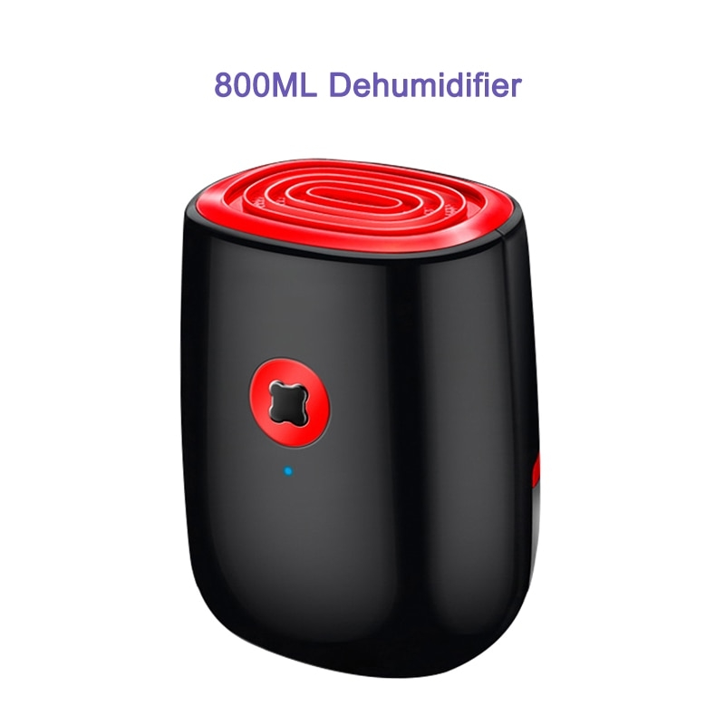 옷장 제습기를위한 800Ml 전기 습기 흡수기, 하얀, 미국 플러그 (POP 5621355644)