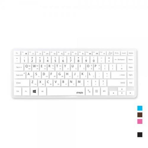 [바보사랑]삼성 NT341XAA-K101B용 문자키스킨, 핑크, 선택