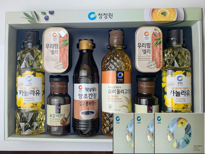 청정원 추석선물세트 스페셜8호 3세트 x1박스 소갈비양념, 단일상품